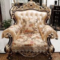 欧式沙发垫四季通用防滑布艺贵妃转角真皮沙发垫套定做