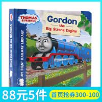英文原版绘本Thomas & Friends Gordon the Big Strong Engine 托马斯和朋友们