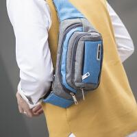户外腰包男女士收银钱运动单肩斜跨包快递骑行跑步旅游胸包
