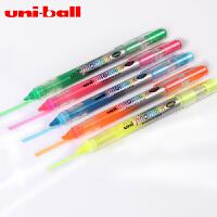 日本三菱USP-105直液式荧光笔透视荧光笔 学生荧光笔