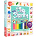 英文原版 KLUTZ Make Clay Charms 多色彩泥饰品手工制作DIY 儿童益智图书 小学STEM课外读物