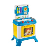 费雪(Fisher Price) 三合一探索厨房儿童玩具宝宝趣味早教过家家玩具3-6岁7