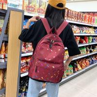 自然鱼双肩背包繁星闪烁款中小学生书包6-12岁儿童使用防水学生书包款式