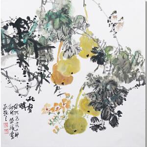 广西美协会员、职业花鸟画家韦荣福先生作品――秋声赋