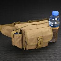 军迷水壶腰包男士户外多功能包登山大容量运动防水休闲实用耐磨