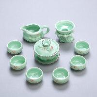 【优选】景德镇陶瓷功夫茶具整套家用茶道套装青花瓷茶具办公茶壶茶杯