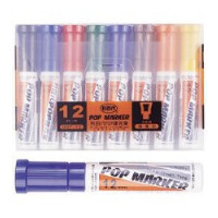 利百代 907-12 12mm POP 麦克笔 唛克笔 广告笔 POP笔