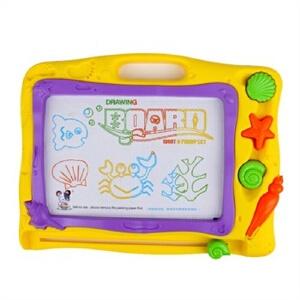琪趣 环保彩色益智画板  4色写字涂鸦板 宝宝学习画画6688A 儿童益智玩具