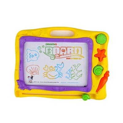琪趣 环保彩色益智画板  4色写字涂鸦板 宝宝学习画画6688A 儿童益智玩具益智玩具限时钜惠