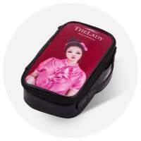 卡通化妆包洗漱包化妆品收纳包韩国包中包女士化妆袋小号便携可爱情人节礼物