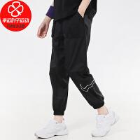 NIKE/耐克女裤新款运动裤跑步训练健身时尚宽松透气舒适休闲梭织长裤子DJ8997-010