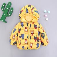冬装新款棉衣外套男女宝宝儿童加绒加厚 2小童3棉袄0-1岁