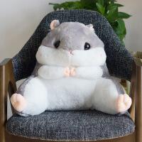 可爱龙猫仓鼠学生腰靠椅子护腰枕靠枕靠背靠垫汽车办公室抱枕床头