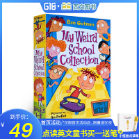 My Weird School Collection: Books 1 to 4 疯狂学校第一季1-4册盒装英文原版 经典小说桥梁书 Miss Daisy is crazy 送音频