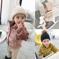 婴童装0-1岁冬装潮宝宝棉袄男加厚婴儿棉衣女小童外套