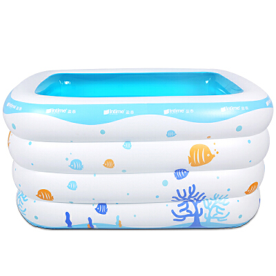 婴儿游泳池幼儿小孩大号充气家庭洗澡桶儿童宝宝保温浴缸