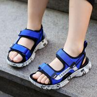 儿童凉鞋男夏季中大童凉鞋学生软底沙滩鞋潮