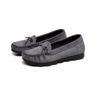 布鞋女 软底工作鞋豆豆鞋平底孕妇鞋单鞋休闲鞋透气学生鞋
