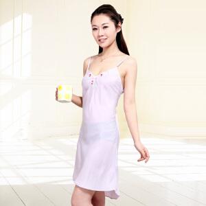 金丰田夏季女士性感时尚无袖睡裙1133