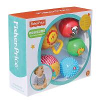 婴儿手抓球宝宝摇铃拍拍球儿童弹力皮球幼儿园触摸球类玩具