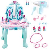 儿童化妆品套装公主梳妆台美幻奇缘公主彩妆生日礼物宝宝过家家化妆盒女孩玩具
