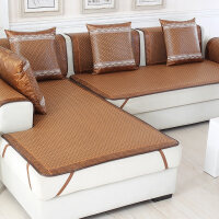 夏季沙发垫夏凉垫客厅沙发凉席坐垫垫子冰丝欧式布艺沙发套罩