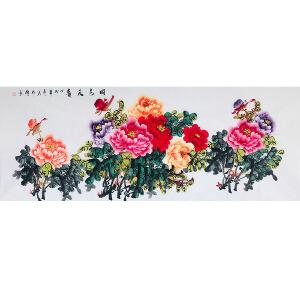 中国美协会员 韦仲传(国色天香)ZH155