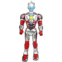 智能机器人大号遥控电动奥特曼钢铁侠宇宙人 1-6岁走路唱歌跳舞奥特曼玩具