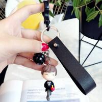情侣钥匙扣一对汽车男士女孩闺蜜朋友礼物创意可爱书包包挂件