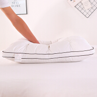 羽绒枕芯白鹅绒枕鸭绒枕头枕芯护颈枕yn定制 鹅绒枕【白色一只】