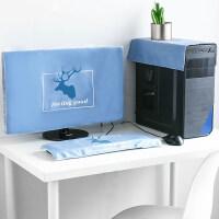 北欧电脑罩装饰防尘罩台式主机显示器防尘布艺键盘套罩可爱的盖布