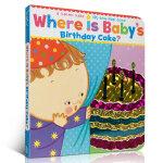 Where Is Baby's Birthday Cake?宝宝的生日蛋糕在哪?A Lift-the-Flap Boo