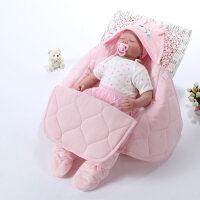 宝宝睡袋 防踢被婴儿抱被春秋包被新生儿抱毯秋冬宝宝分腿睡袋冬季两用襁褓wk-44
