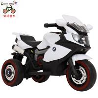 儿童电动摩托车三轮车儿童电动童车男女孩宝宝可坐小孩充电带遥控