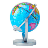 童鸽地球仪中学生用14.2cm高清小号万向儿童玩具摆件高20中号教学