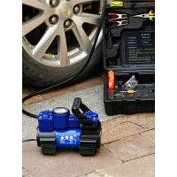 双缸车载充气泵 便携式轮胎汽车打气泵 12v车用打气机