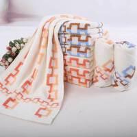 依明洁纯棉毛巾S1283 柔软亲肤提缎面巾