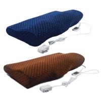 颈椎枕头护颈枕家用电热疗热敷按摩枕头定制!定制