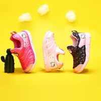 【4折价:87.6元】HelloKitty凯蒂猫童鞋女童毛毛虫运动鞋春季新款宝宝儿童休闲女孩跑步鞋K0513855
