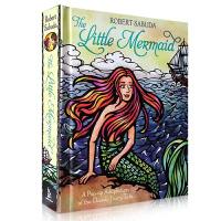 全店满300减100】The Little Mermaid小美人鱼立体书 立体书大师Sabuda带来了3D效果的小美人鱼