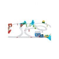 托马斯电动小火车之雪地大冒险轨道套装玩具新年礼物男孩儿童宝宝玩具