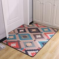 卧室玄关防滑脚垫子家用门厅进门地垫入户门垫地毯80/90*110定制
