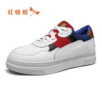 【�t蜻蜓限�r���,�I��M�~再�p20】�t蜻蜓�\�有蓍e女鞋春秋新品小白鞋�凸胚\�有蓍e板鞋板鞋