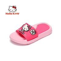 HelloKitty凯蒂猫童鞋女童四季夏凉拖鞋家居室内浴室防滑女宝宝幼儿小孩拖鞋 KE181085
