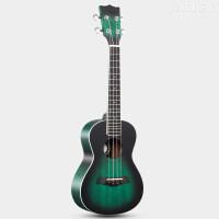 尤克里里初学者学生23寸镶边乌克丽丽小吉他 23寸碧绿翡翠+
