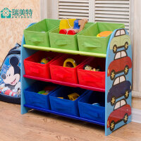 多功能儿童玩具收纳筐超大幼儿园宝宝玩具收纳架储物箱置物架