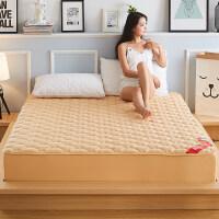 纯棉床笠加厚夹棉席梦思床罩保护套单件全棉床垫防滑1.5米1.8m床