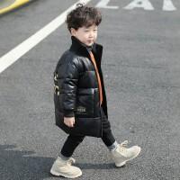 童装男童冬装棉衣2018新款中长款韩版儿童棉服宝宝加厚冬季棉袄潮