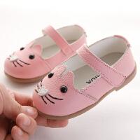 0-1-3岁女童公主鞋韩版春秋季新款宝宝鞋婴儿学步鞋软底鞋