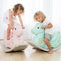 摇摇马带音乐塑料礼物儿童玩具木马